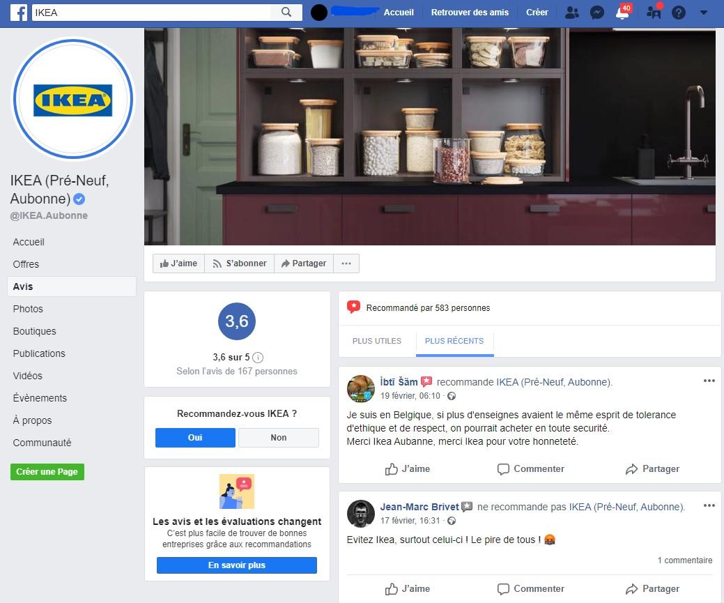 Facebook Ikea Aubonne